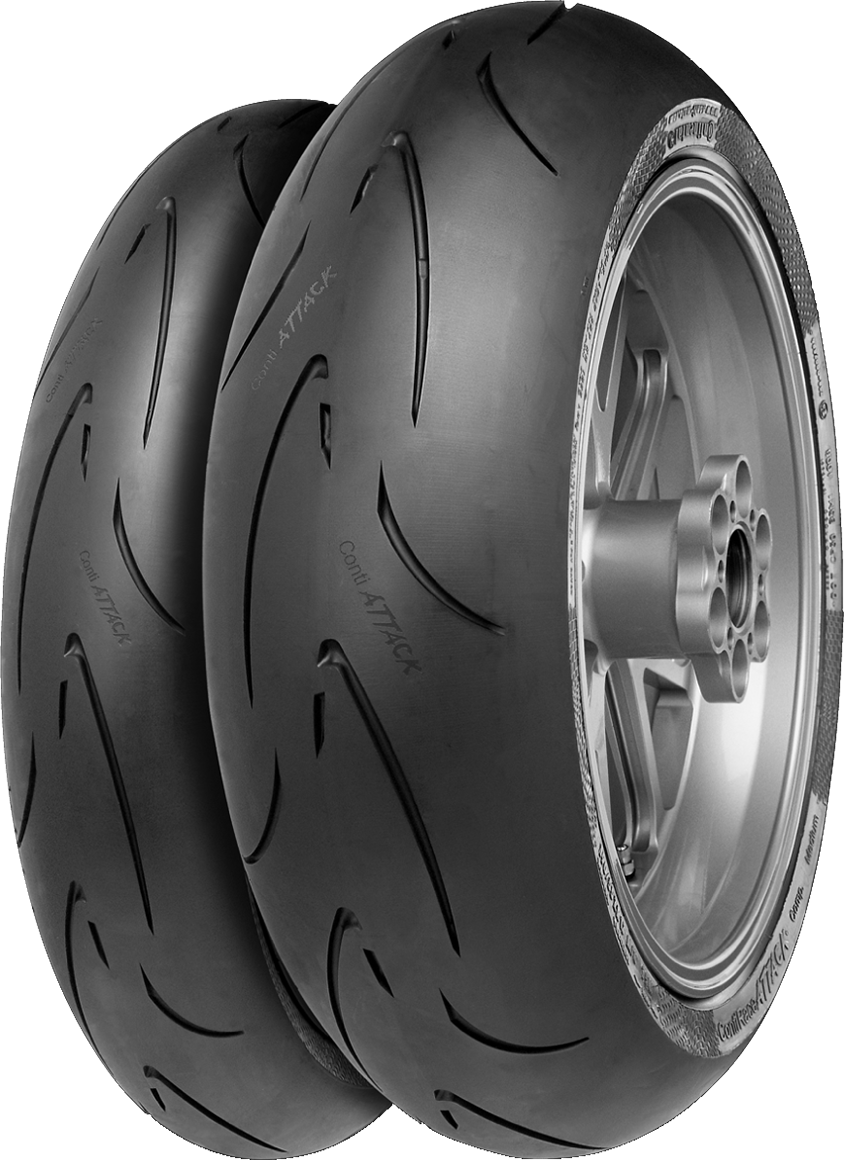 CONTINENTAL 120/70 ZR17 ContiRaceAttack Comp. 58W TL  FRONT